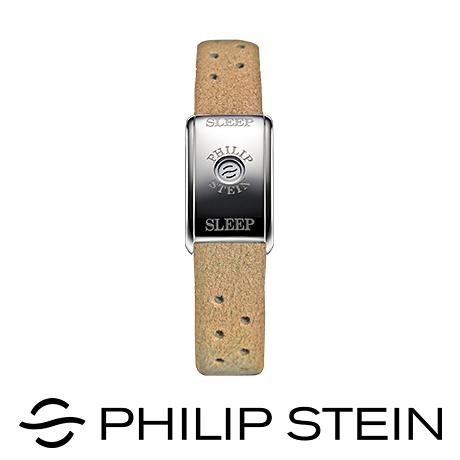 【Philip Stein】翡麗詩丹睡眠手環-【經典駝】運動手環/能量手環