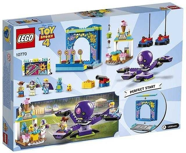 LEGO 樂高 玩具總動員 Buzz & Woody's Carnival Mania 嘉年華狂歡 10770