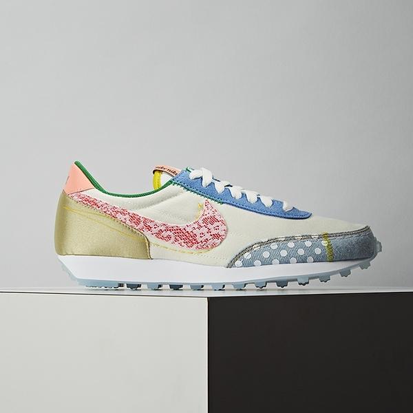 Nike Daybreak 女鞋 米白彩 經典 拼接 復古 簡約 舒適 休閒鞋 CZ8681-167