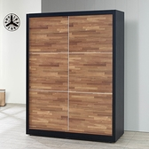 積層木5尺推門衣櫥(21SP/528-1)