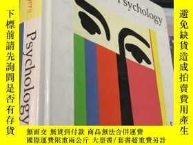 二手書博民逛書店Psychology罕見(Fourth Edition)精裝Y5