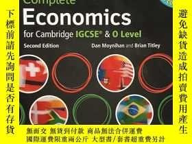 二手書博民逛書店Complete罕見Economics for Cambridg