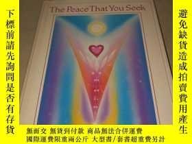 二手書博民逛書店The罕見Peace That You Seek 你所尋求的和平Y222470 ALAN COHEN 看圖