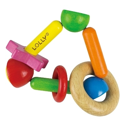 【佳兒園婦幼館】LOLLY 木製玩具-明日之星