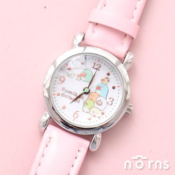 【日貨sunflame手錶SX-V09角落生物】Norns J-AXIS 皮質腕錶 日本進口正版 角落小夥伴 卡通 女錶