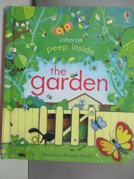 【書寶二手書T6/少年童書_DJ6】Peep Inside the Garden_Simona Dimitri,Sam Taplin