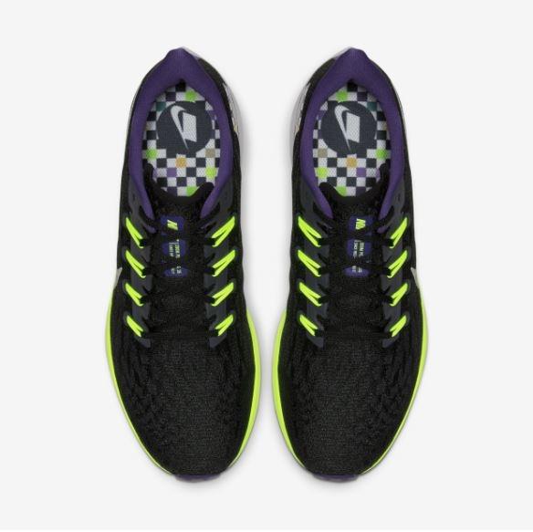 NIKE系列-Air Zoom Pegasus 36 男款黑螢光黃運動慢跑鞋-NO.CQ4814071