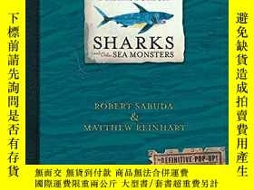 二手書博民逛書店Encyclopedia罕見Prehistorica Sharks And Other Sea Monsters奇