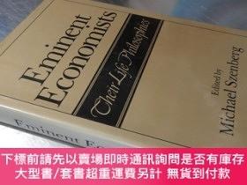 二手書博民逛書店Eminent罕見Economists Their Life Philosophies(16開精裝 英文原版)著名