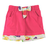 【愛的世界】春遊純棉鬆緊帶水果短褲/1~3歲-台灣製- ★春夏下著