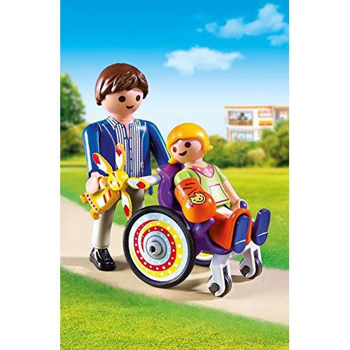 playmobil 城市生活系列 兒童與輪椅_ PM06663