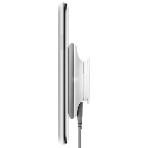 moshi SnapTo 磁吸無線充電座 灰色 (需搭配 Moshi SnapTo 磁吸系列保護殼)