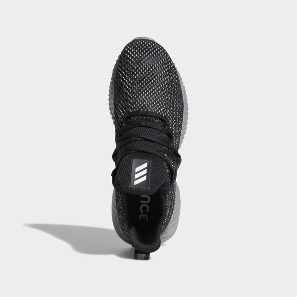 Adidas Alphabounce Instinct M [BC0626] 男鞋 運動 慢跑 休閒 無縫 舒適 黑灰