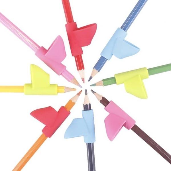 [拉拉百貨]初學者手指定位套 握筆器 幼兒童小學生握筆器矯正器 鉛筆用