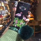 三星 S8 S8+ S9 S9+ 手機殼 軟硅膠 火烈鳥 全包邊 網紅 花草 毛球 保護殼 防摔 防指紋 掛繩 創意
