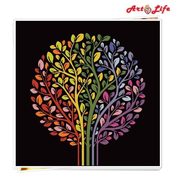 【21026】生命樹 DIY 數字 油畫 彩繪