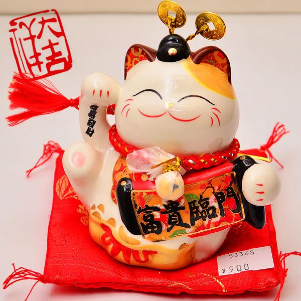 【好運連年】福氣招財貓存錢筒 286