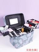 收納 化妝箱.便攜化妝包新款護膚袋ins女手提小收納盒品大容量箱多層網紅
