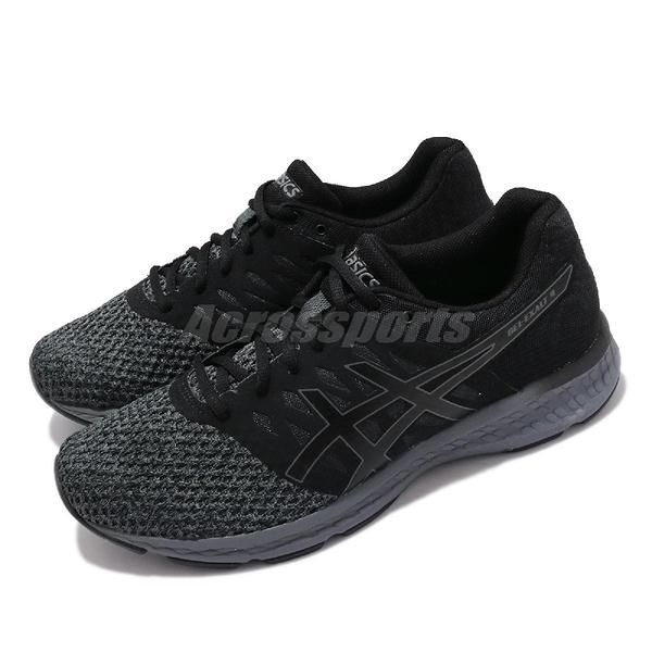 【六折特賣】Asics 慢跑鞋 Gel-Exalt 4 黑 灰 針織鞋面 男鞋 【ACS】 T7E0N020