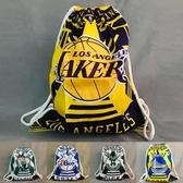 篮球袋 湖人隊勇士隊雄鹿籃球袋子背包籃球包訓練包雙肩收納包抽繩大容量 城市科技