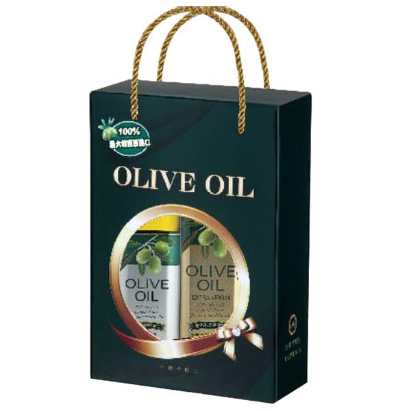 【台糖優食】台糖富貴橄欖油禮盒 x1盒(2瓶/盒) ~送禮 自用皆宜