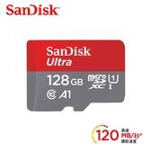 【SanDisk】Ultra microSDXC UHS-I (A1) 128GB 記憶卡