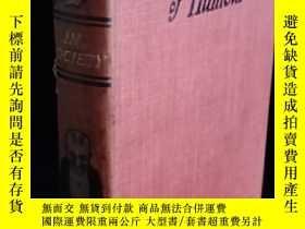 二手書博民逛書店Mr.罕見punch in society潘克先生在社會上 含大量插圖 書頂刷金 18.3*12cmY3145
