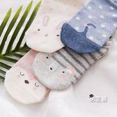女士襪子船襪女防滑棉質可愛卡通小動物隱形短襪夏87001(免運)