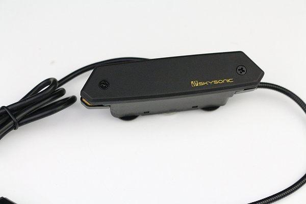 小叮噹的店-全新 SkySonic SH-T902 木吉他拾音器 雙線圈拾音器 麥克風 T-902 雙系統