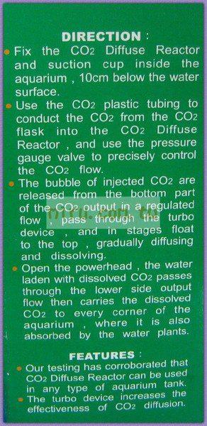 【西高地水族坊】雅柏UP、鐳力LE 螺旋式CO2擴散桶
