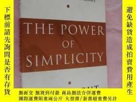 二手書博民逛書店The罕見Power of Simplicity (A mana