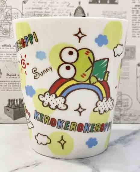 【震撼精品百貨】KeroKeroKeroppi 大眼蛙~Sanrio 大眼蛙馬克杯-天氣#07638
