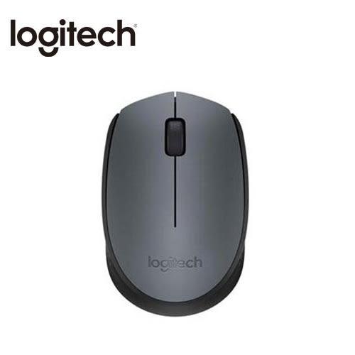 羅技 Logitech B170 無線滑鼠 黑灰色 USB接收器 隨插即用 12 個月電池使用壽命