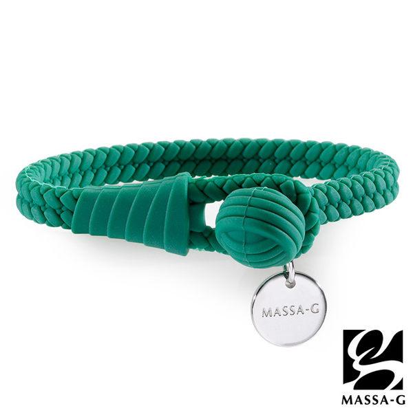 絕色典藏 負離子能量手環/腳環-草木綠 MASSA-G