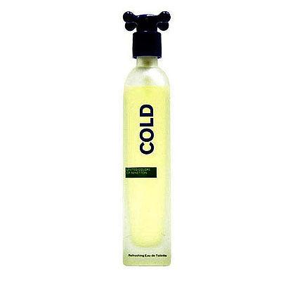Benetton Cold班尼頓冷水中性淡香水 100ML【七三七香水精品坊】