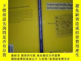 二手書博民逛書店Convex罕見and starlike mappings in