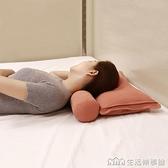頸椎枕頭睡覺專用修復頸椎決明子成人牽引矯正硬圓柱枕糖果護頸枕 NMS樂事館新品