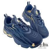 【樂樂童鞋】GOODYEAR 童款輕量緩震運動鞋-黑金 G018-1 - 男童鞋 運動鞋 球鞋 布鞋 大童鞋 固特異