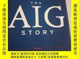 二手書博民逛書店The罕見AIG Story: + Website【有簽名】Y2