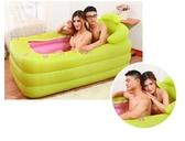 桑拿浴箱家用成人汗蒸房充氣可折疊躺式浴缸泡澡熏蒸兩用加厚YXS 韓小姐的衣櫥