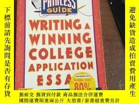 二手書博民逛書店Writing罕見a Winning College Appli