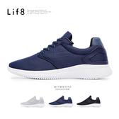 Sport 輕量 透氣網布 二代3D彈簧運動鞋-深藍【09786】