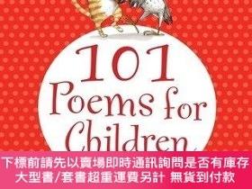 二手書博民逛書店101罕見Poems For Children Chosen By Carol Ann DuffyY25517