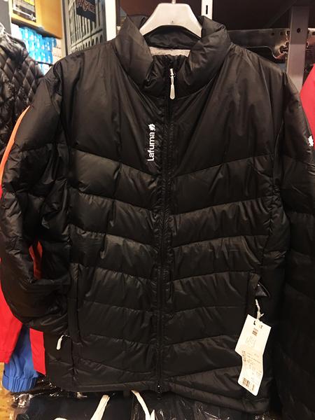 Lafuma 法國品牌  防潑水羽絨外套/夾克 黑色 (LFV8498) ★買就送保暖圍巾★