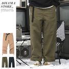 休閒褲 高磅硬挺工作褲 寬褲 縮口褲  【A1821】