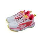 LOTTO 運動鞋 厚底 白/螢光粉 童鞋 RLT0AK2023 no038