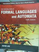 【書寶二手書T2/大學理工醫_PIU】An introduction to formal languages and a