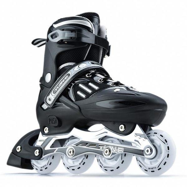 溜冰鞋成人全套裝輪滑鞋單排旱冰鞋男女兒童滑冰鞋直排輪初學者【全館滿888限時88折】TW