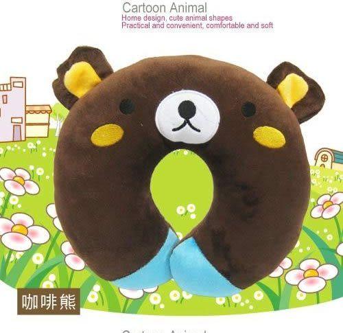 [AWANA]Cute動物U型枕(粉藍貓)