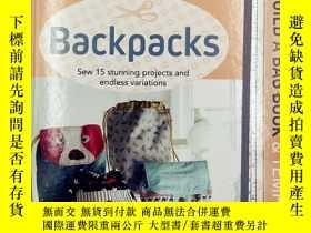 二手書博民逛書店Build罕見a Bag Book & Templates: Backpacks: Sew 15 stunning